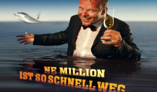 Karsten Kaie, Ne Million ist so schnell weg (Foto: Heide Migdalek)