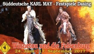 Süddeutsche Karl-May-Festspiele (Grafik: Helmut Urban)