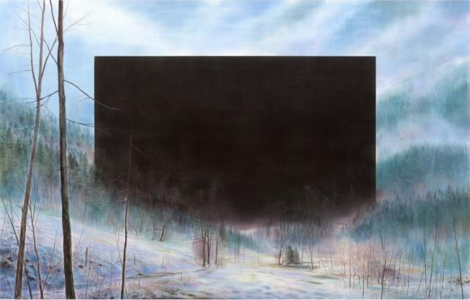 Wieland Payer Malerei und Arbeiten auf Papier 2017