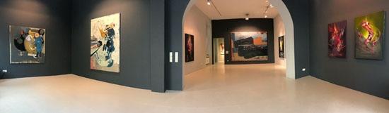 Strange Matter Ausstellungsansicht