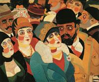 Josef Scharl Pariser Straßenszene, 1930 Sammlung Karsch-Nierendorf © Susanne Fiegel