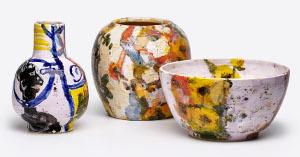 Keramiken von Klaus Fußmann. Foto: Alexander Beck