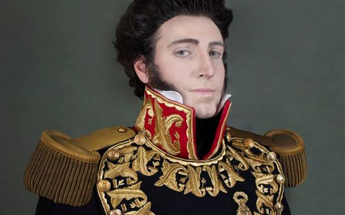 Christian Fuchs, Self Portrait as Gran Mariscal Don Juan Bautista Elespuru y Montes de Oca, 2014