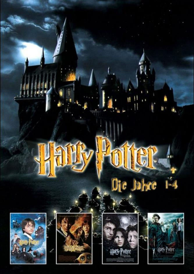 Harry Potter Filmnacht 1-4