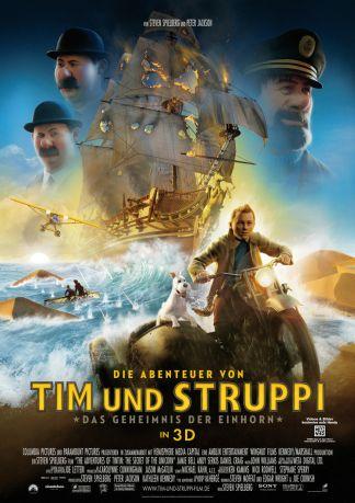 Die Abenteuer von Tim und Struppi - Das Geheimnis der Einhorn 3D
