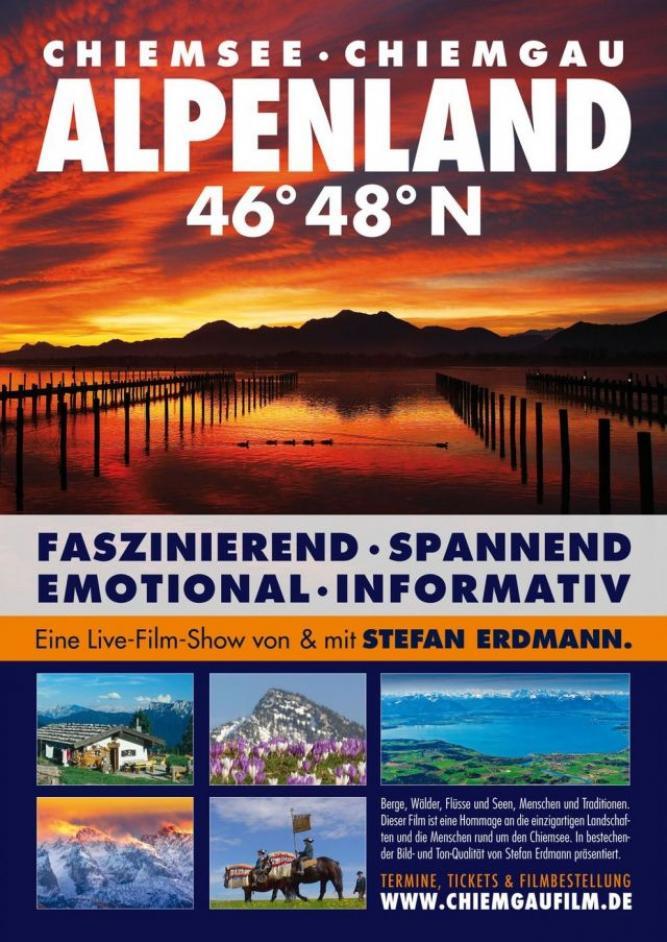 Heimat 46° 48° N - Chiemsee, Chiemgau, Alpenland