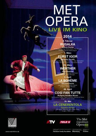 MET Opera: La Cenerentola (Rossini)
