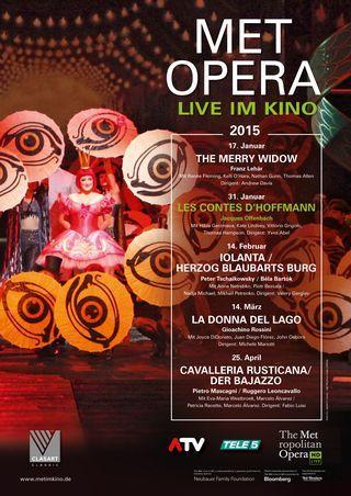 MET Opera: Les Contes D'Hoffmann (Offenbach)
