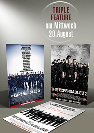 Triple-Nacht: The Expendables 1-3