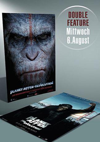 Doppel-Nacht: Planet der Affen Teil 1+2