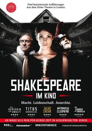 Shakespeare's Globe Theatre London 2015: Antonius & Cleopatra