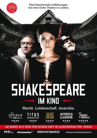 Shakespeare's Globe Theatre London 2015: Die Komödie der Irrungen