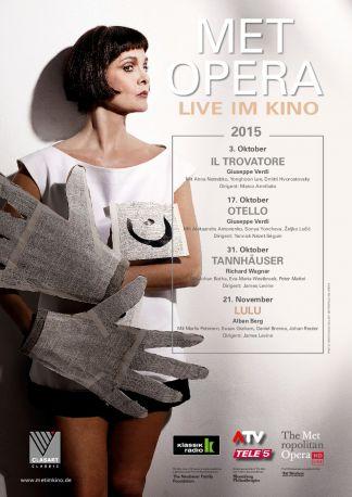 Met Opera 2015/16: Lulu (Berg)
