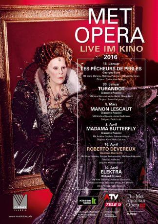 Met Opera 2015/16: Roberto Devereux (Donizetti)