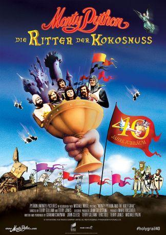 Monty Pythons Ritter der Kokosnuß - 40 Jahre Jubiläum