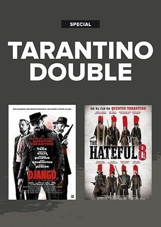 Tarantino Double: Django Unchained + The Hateful 8