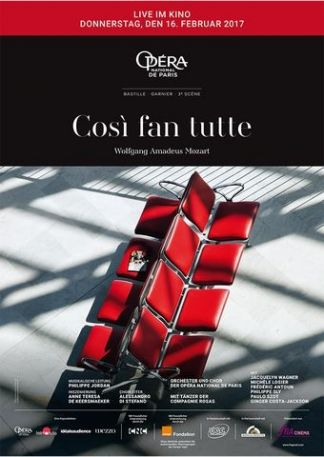 Opéra national de Paris 2016/17: Così fan tutte