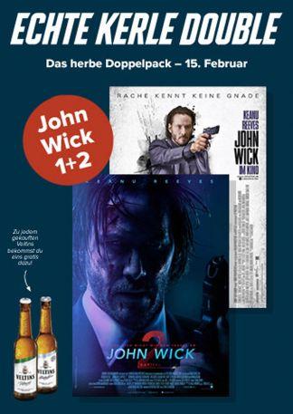 Echte Kerle Double: John Wick 1+2
