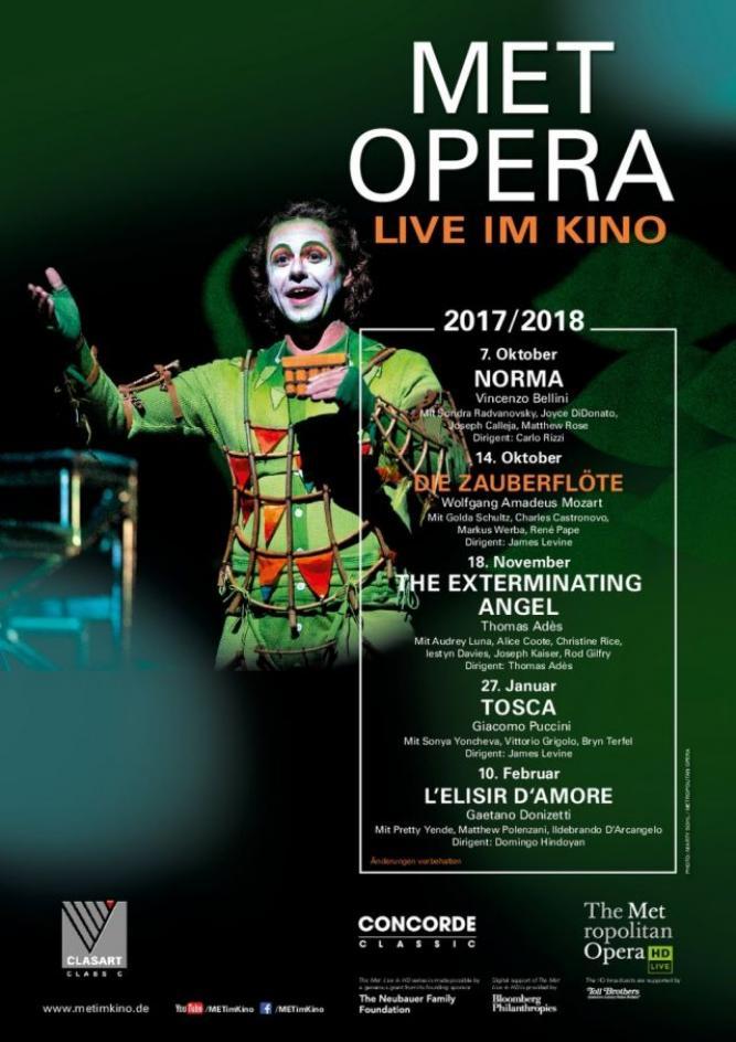 Met Opera 2020/21: Mozart Die Zauberflöte (2017)