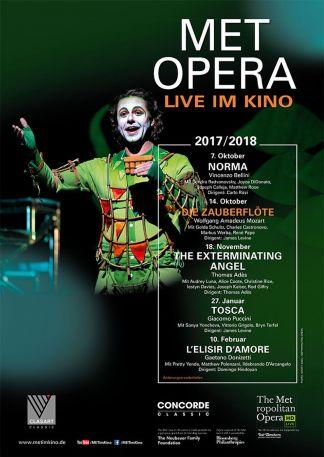 Met Opera 2017/18: Die Zauberflöte (Mozart)