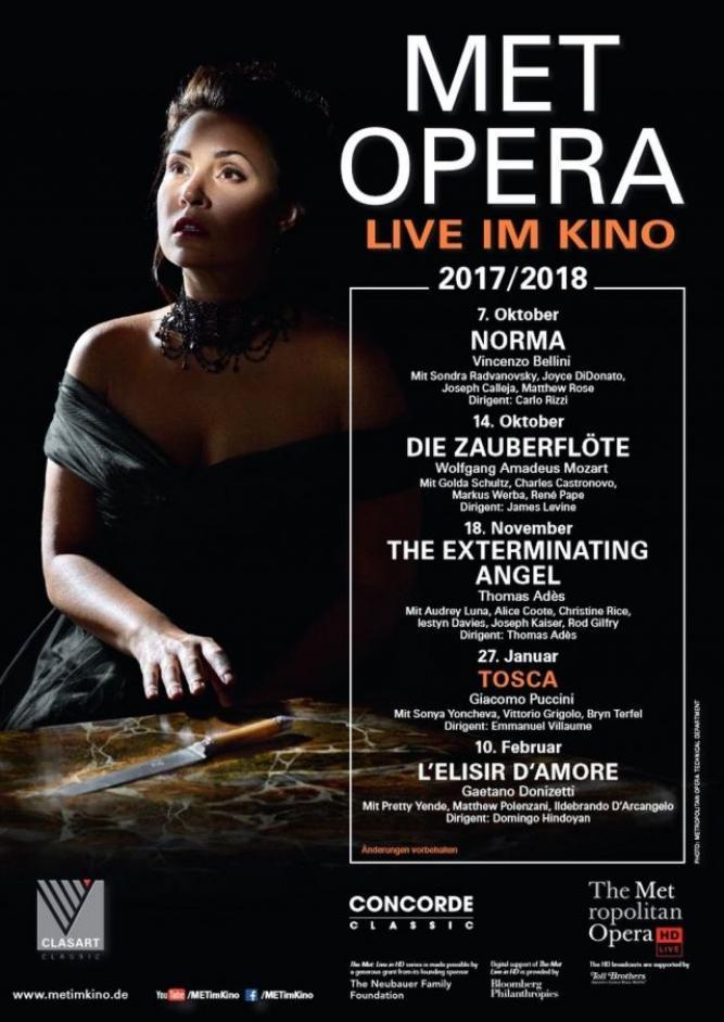 Met Opera 2017/18: Tosca (Puccini)