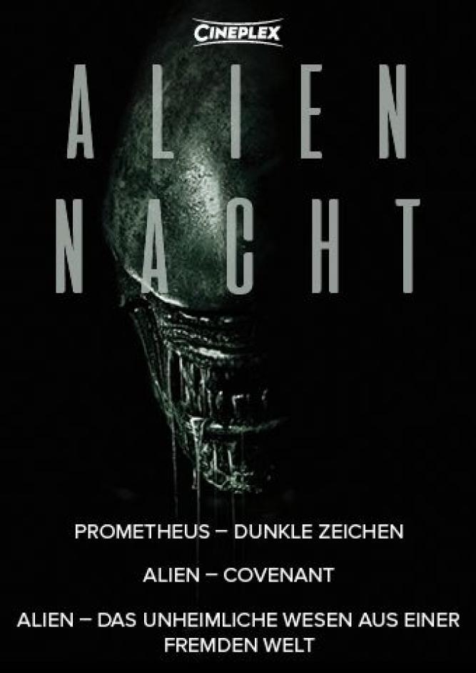 Alien-Nacht