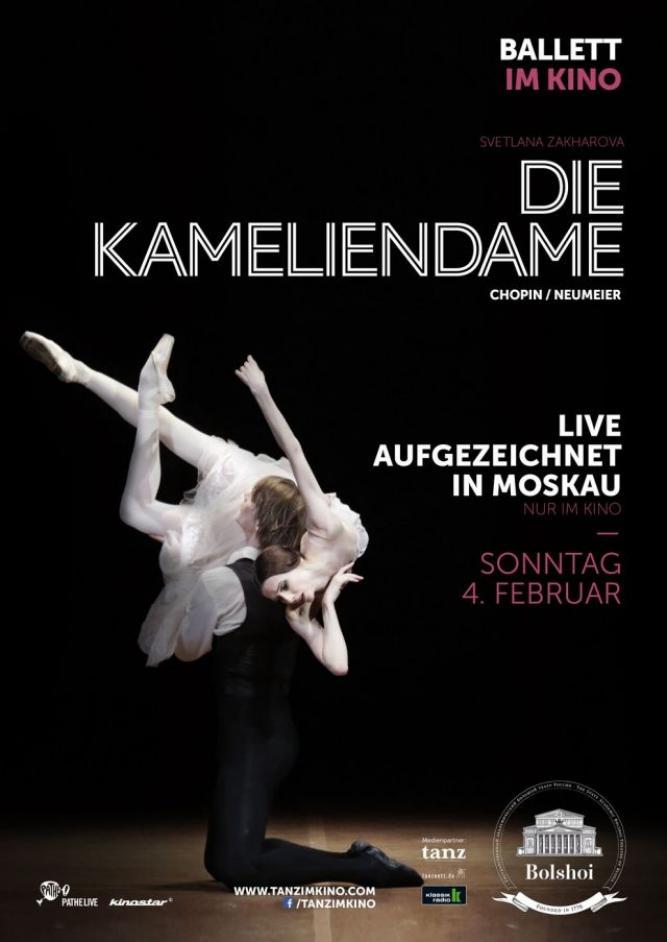 Bolshoi Ballett 2017/18: Die Kameliendame