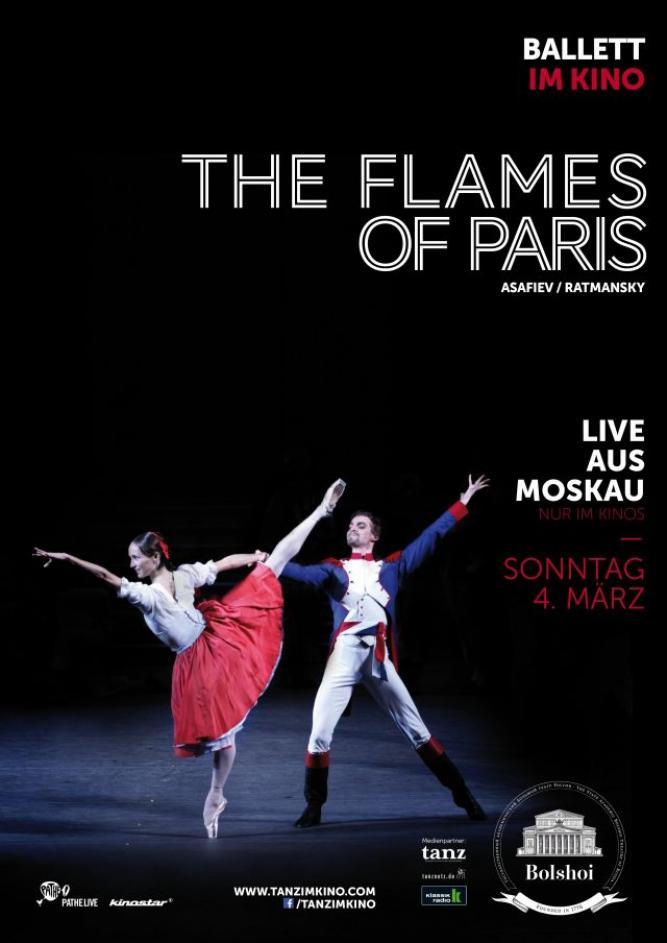 Bolshoi Ballett 2017/18: The Flames of Paris