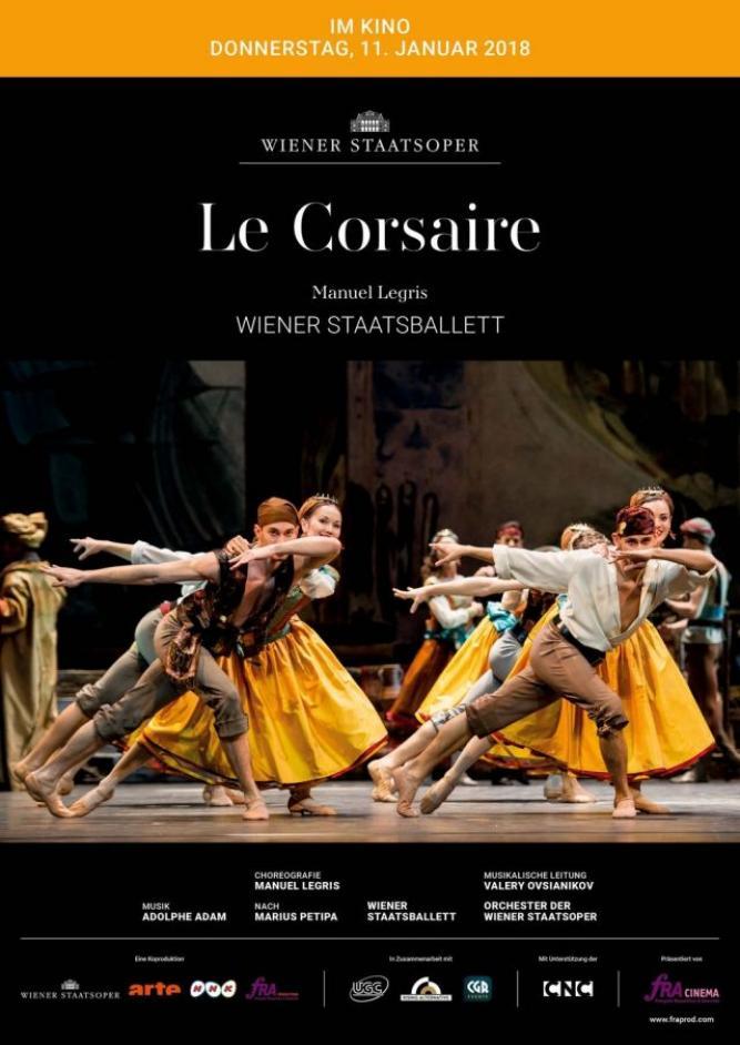 Opéra national de Paris 2017/18: Le Corsaire