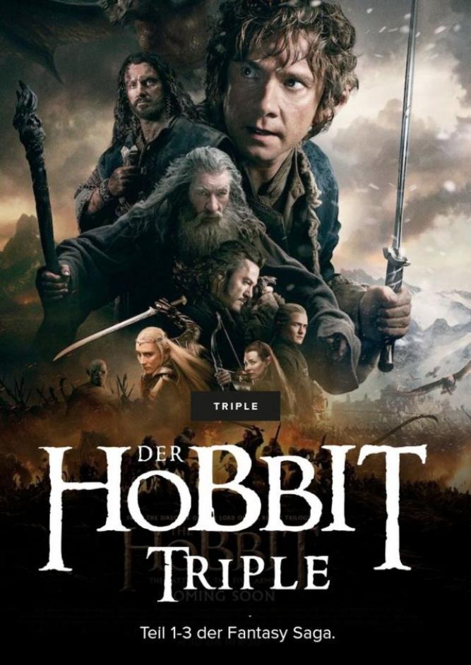Der Hobbit Triple