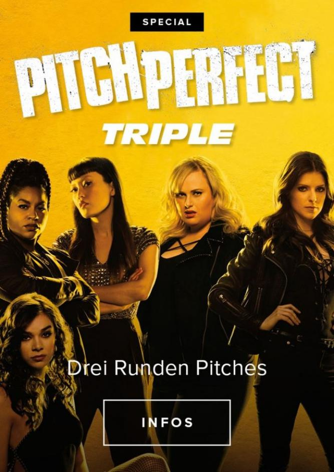 Triple Feature: Pitch Perfect