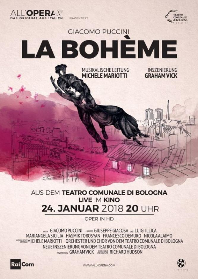 All´Opera Saison 2017/18: La Bohème