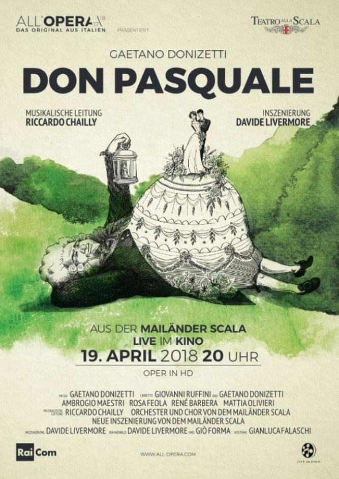 All´Opera Saison 2017/18: Don Pasquale
