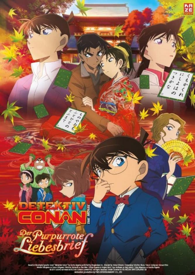Anime Night 2018: Detektiv Conan Film 21- Der purpurrote Liebesbrief