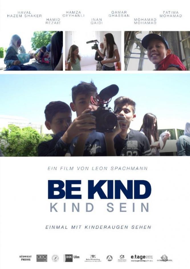 BE KIND - KIND SEIN