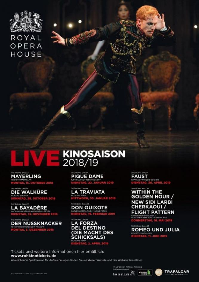 Royal Opera House 2018/19: Within The Golden Hour / Medusa / Flight Pattern