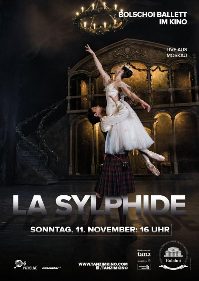 Bolshoi Ballett 2018/19: La Sylphide