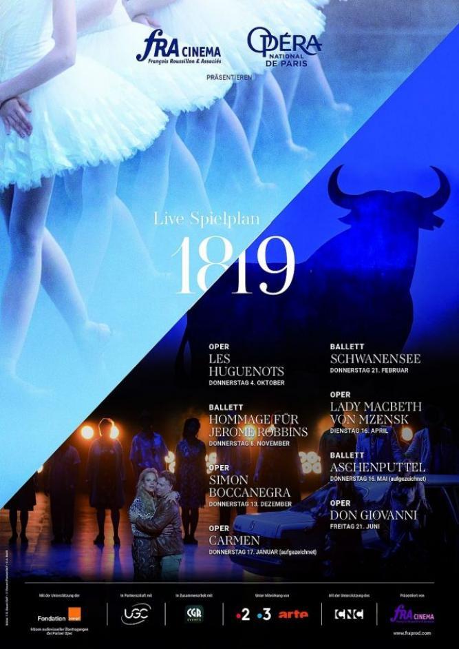Opéra national de Paris 2018/19: Schwanensee