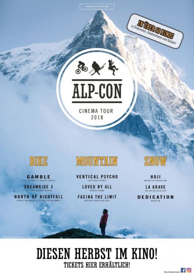Alp-Con CinemaTour 2018: BIKE
