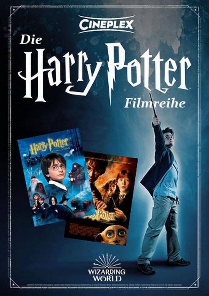Die Harry Potter Filmreihe: Teil 1 & 2