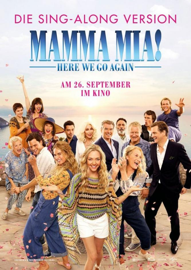 Mamma Mia! Here We Go Again - Sing-Along Version