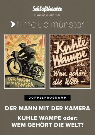 Doppelprogramm: Der Mann mit der Kamera/Kuhle Wampe