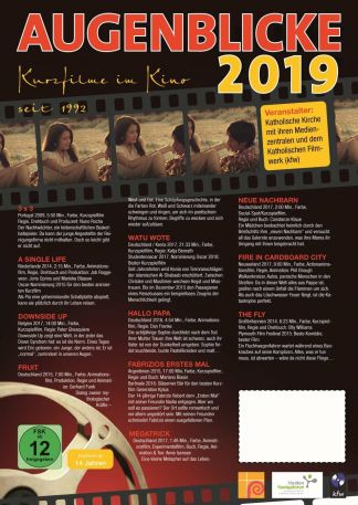 Augenblicke - Kurzfilme im Kino 2019