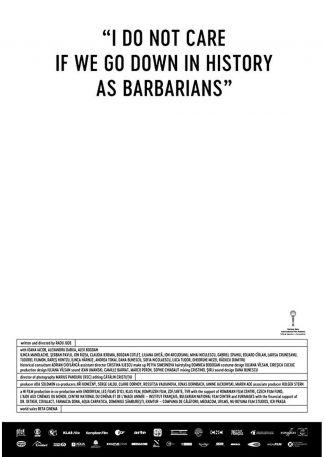 Mir ist es egal, wenn wir als Barbaren in die Geschichte eingehen