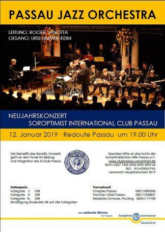 Neujahrskonzert Soroptimist Passau / Max Greger Jr. und Band