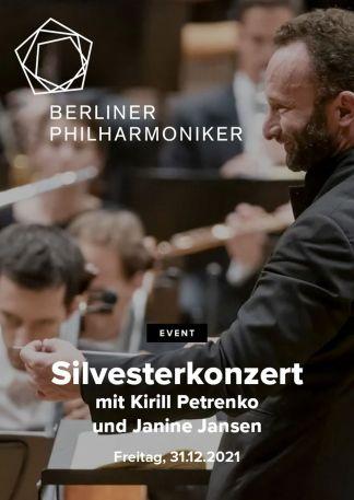 Berliner Philharmoniker 2021/22: Silvesterkonzert mit Kirill Petrenko und Janine Jansen