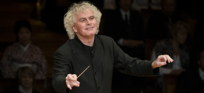 Sir Simon Rattle, Foto: Hänel