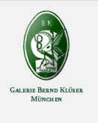 Galerie Bernd Klüser München Ausstellungen