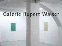 Galerie Rupert Walser München Ausstellungen