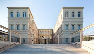 Museum Barberini, Rückansicht, Foto: Helge Mundt